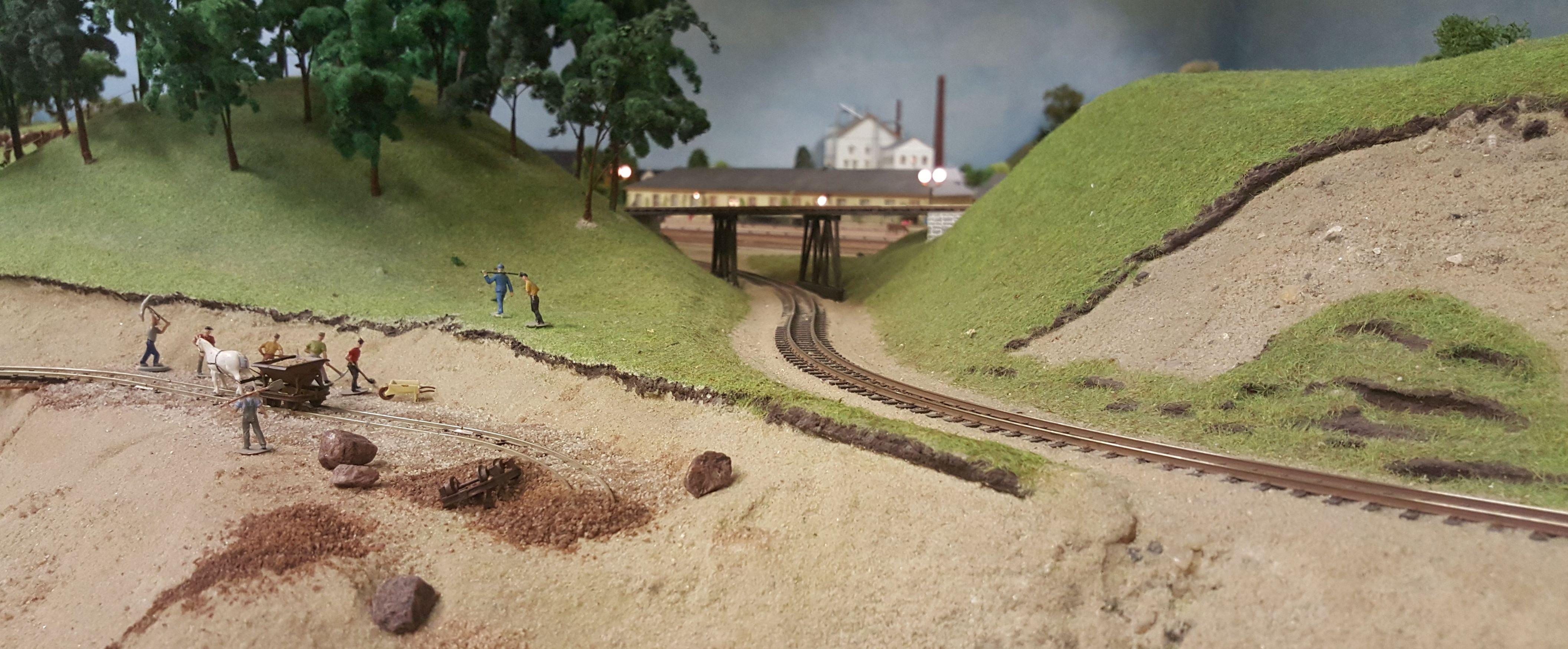 Hedegaardens Privatbane - Smalspor i grusgraven