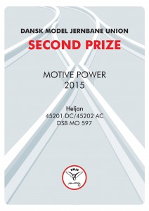 DIPLOMER 2, Motiv Power, Second Prize, Heljan