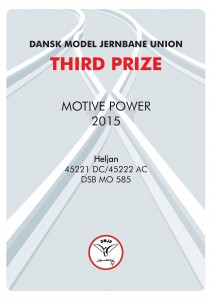 DIPLOMER 3, Motiv Power, Third Prize, Heljan