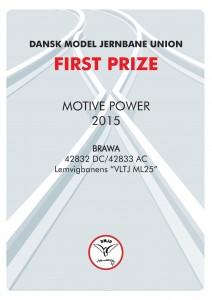 DIPLOMER 1, Motiv Power, First Prize, BRAWA
