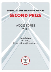 DIPLOMER 11, Accossories, Second Prize, Laserhobby