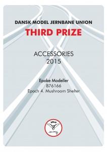 DIPLOMER 12, Accossories, Third Prize, Epoke Modeller