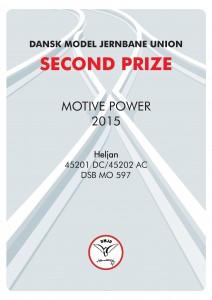 DIPLOMER 2, Motiv Power, Second Prize, Heljan