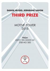DIPLOMER 3, Motiv Power, Third Prize, Heljan