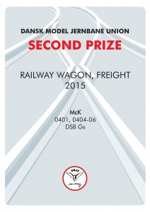 DIPLOMER 5, Rail Wagon Freight, Second Prize, Mck